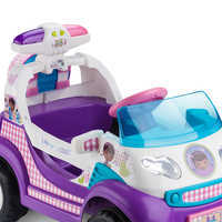 Image of Doc McStuffins Electric Ride-On Rescue Ambulance # 5