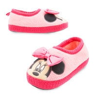 Minnie Mouse Plush Slippers for Kids