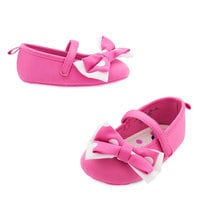 Image of Minnie Mouse Costume Shoes for Baby - Pink # 1