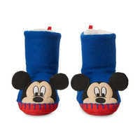 Image of Mickey Mouse Boot Slippers for Kids # 3