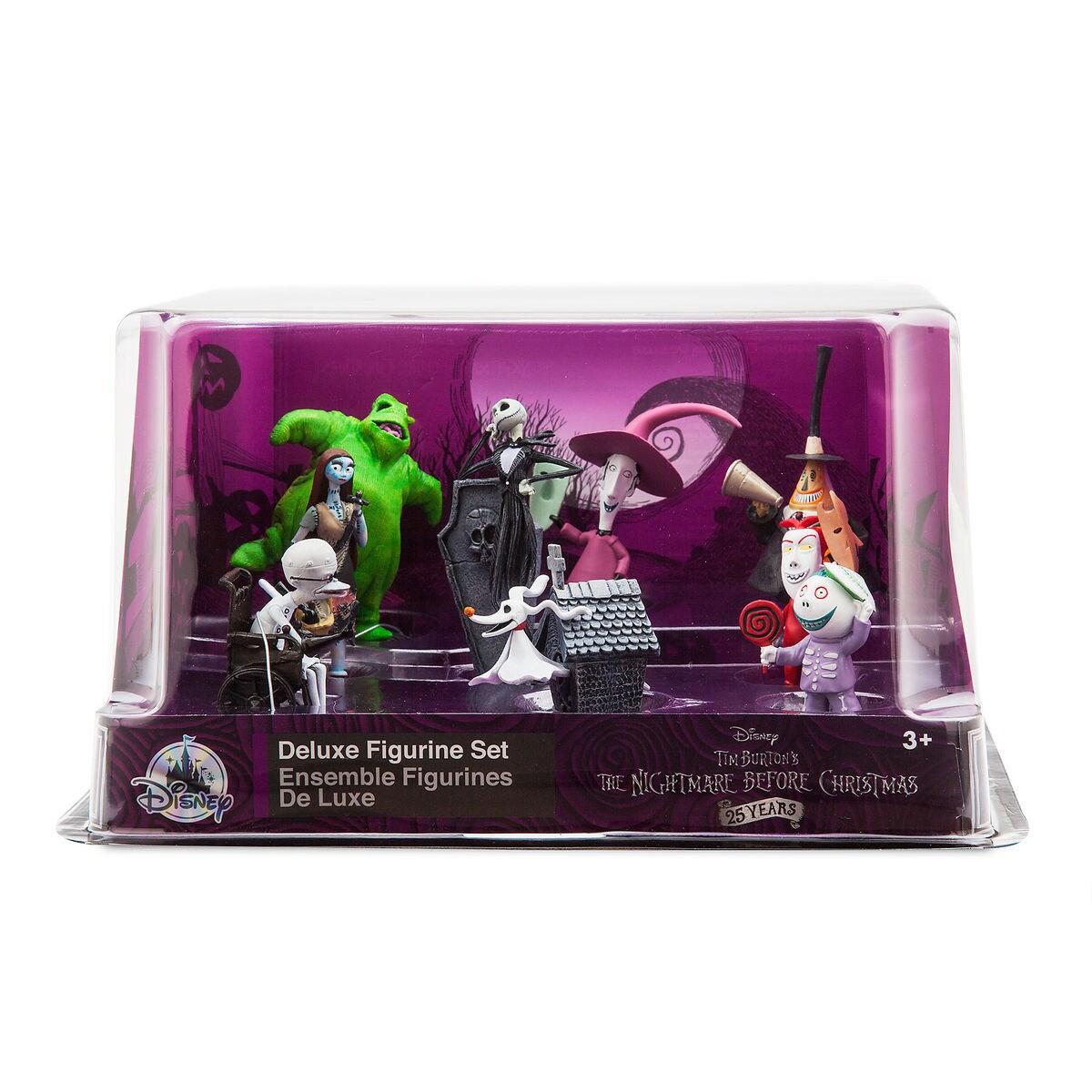 Tim Burton\'s The Nightmare Before Christmas Deluxe Figure Playset ...