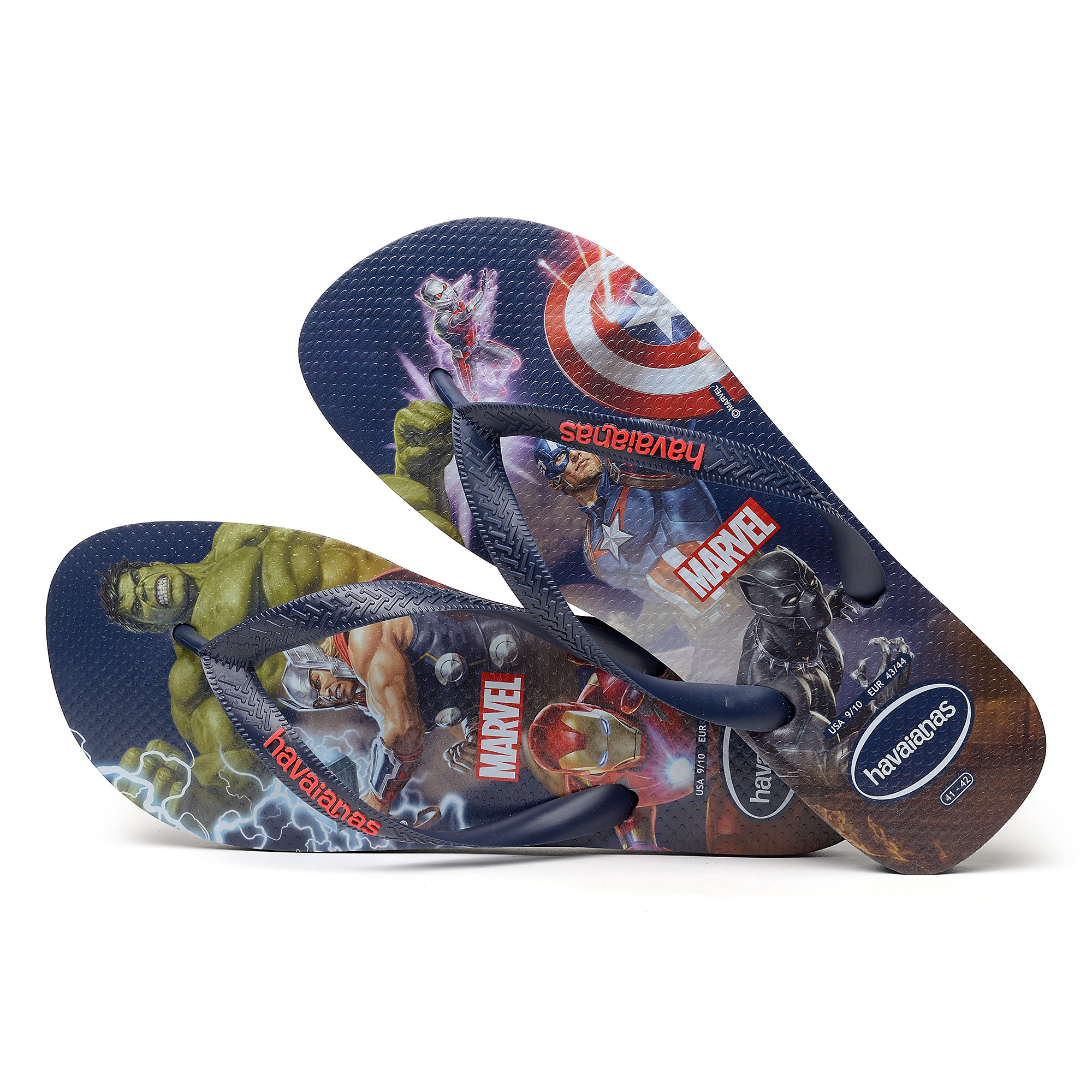 ce0f84be7a26 Marvel s Avengers Flip Flops for Men by Havaianas is available ...