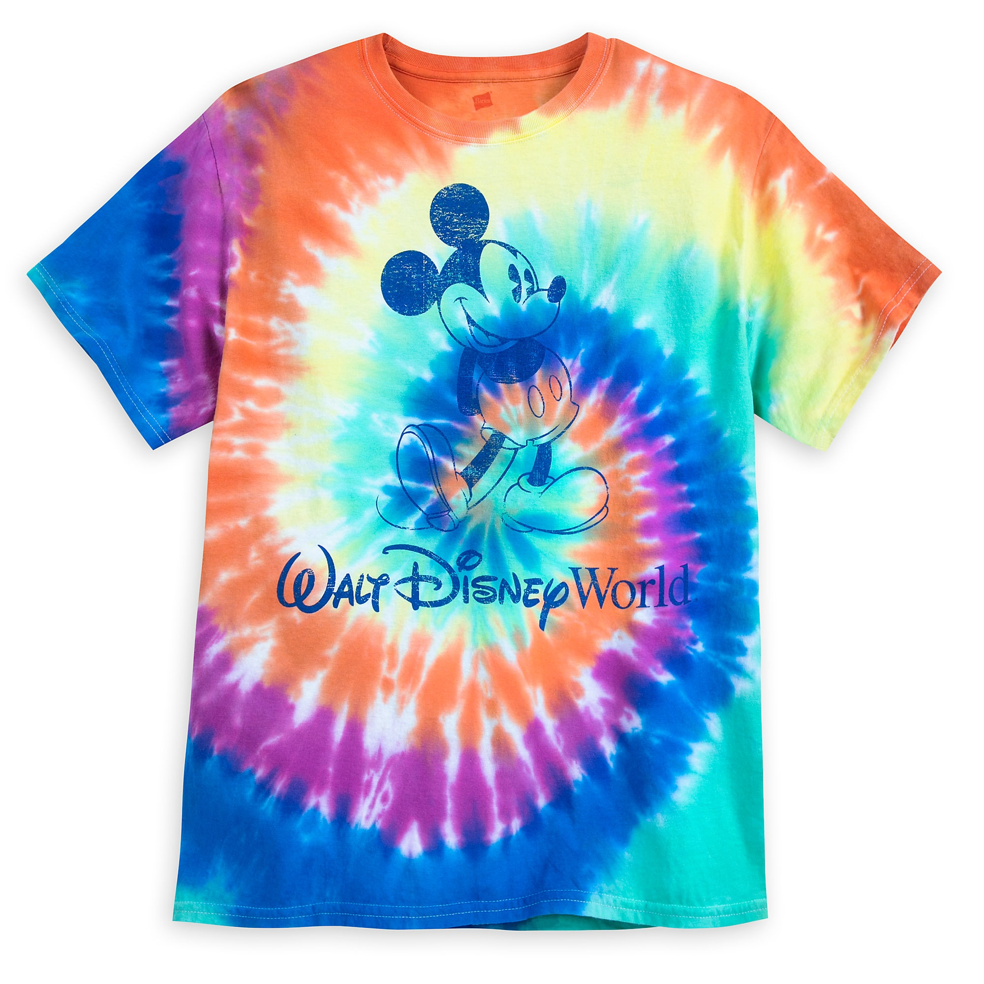 How to tie a dye t shirt
