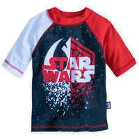 Image of Star Wars: The Last Jedi Rash Guard for Boys # 1