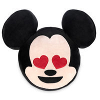 Image of Mickey Mouse Emoji Plush Pillow # 1