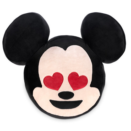 Mickey Mouse Emoji Plush Pillow