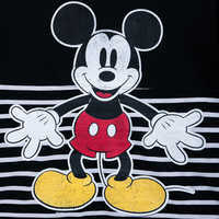 Image of Mickey Mouse Striped Spirit Jersey for Adults # 5