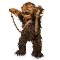 Image of Chewbacca Plush Backpack - Star Wars # 2