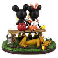Image of Mickey Mouse and Minnie Mouse ''Puppy Love'' Figurine # 2