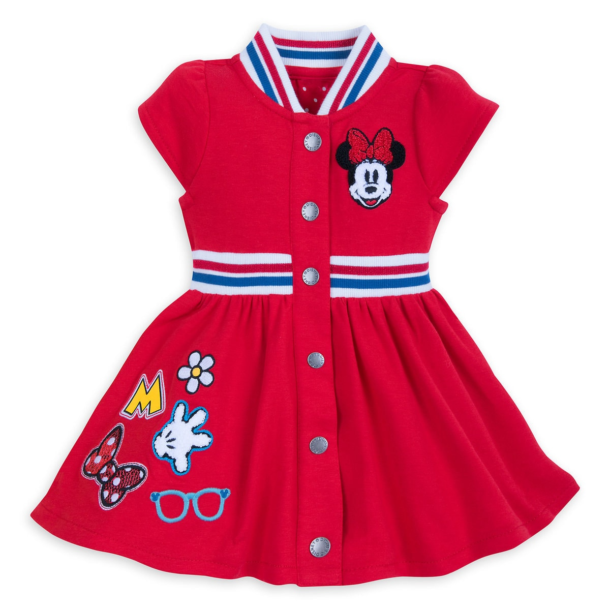 8d5685392 Product Image of Minnie Mouse Patches Dress for Baby # 1