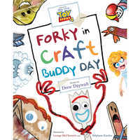 Image of Toy Story 4: Forky in Craft Buddy Day Picture Book # 1