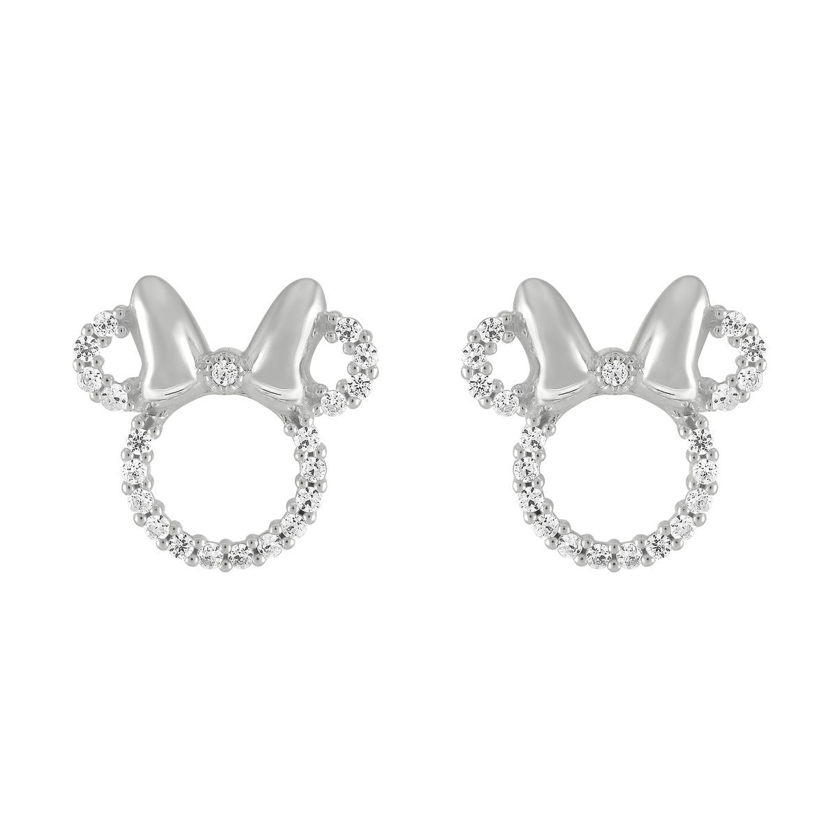 99e4152cf Product Image of Minnie Mouse Sterling Silver Icon Earrings by Rebecca Hook  # 1
