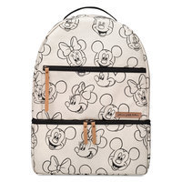 Image of Mickey and Minnie Mouse Axis Sketch Backpack - Petunia Pickle Bottom # 1