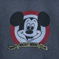 Image of Mickey Mouse Club ''Official Mouseketeer'' Pullover for Adults # 3