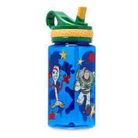 Image of Toy Story 4 Water Bottle with Built-In Straw # 1