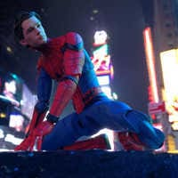 Image of Spider-Man Action Figure - Marvel Select - Spider-Man: Homecoming - 7'' # 6