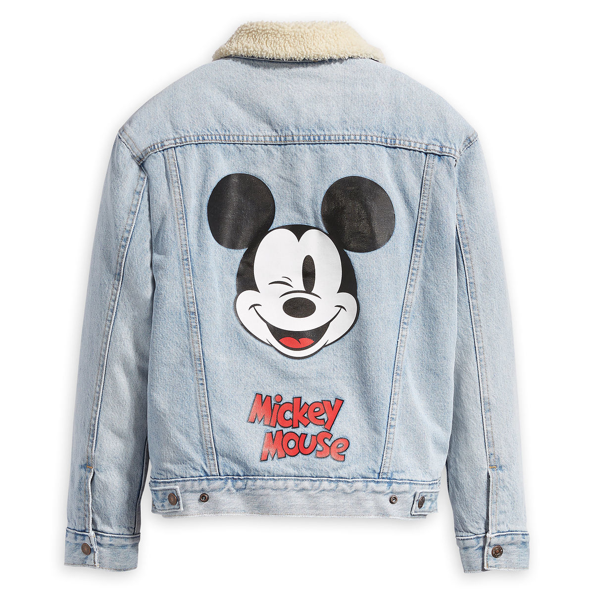 Mickey Mouse Denim Jacket For Women By Levi S Shopdisney