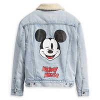 Image of Mickey Mouse Denim Jacket for Women by Levi's # 2