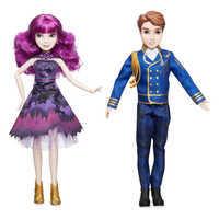 Image of Mal and Ben Royal Cotillion Couple Doll Set - Descendants 2 # 1