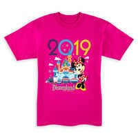 Image of Minnie Mouse T-Shirt for Kids - Disneyland 2019 # 1
