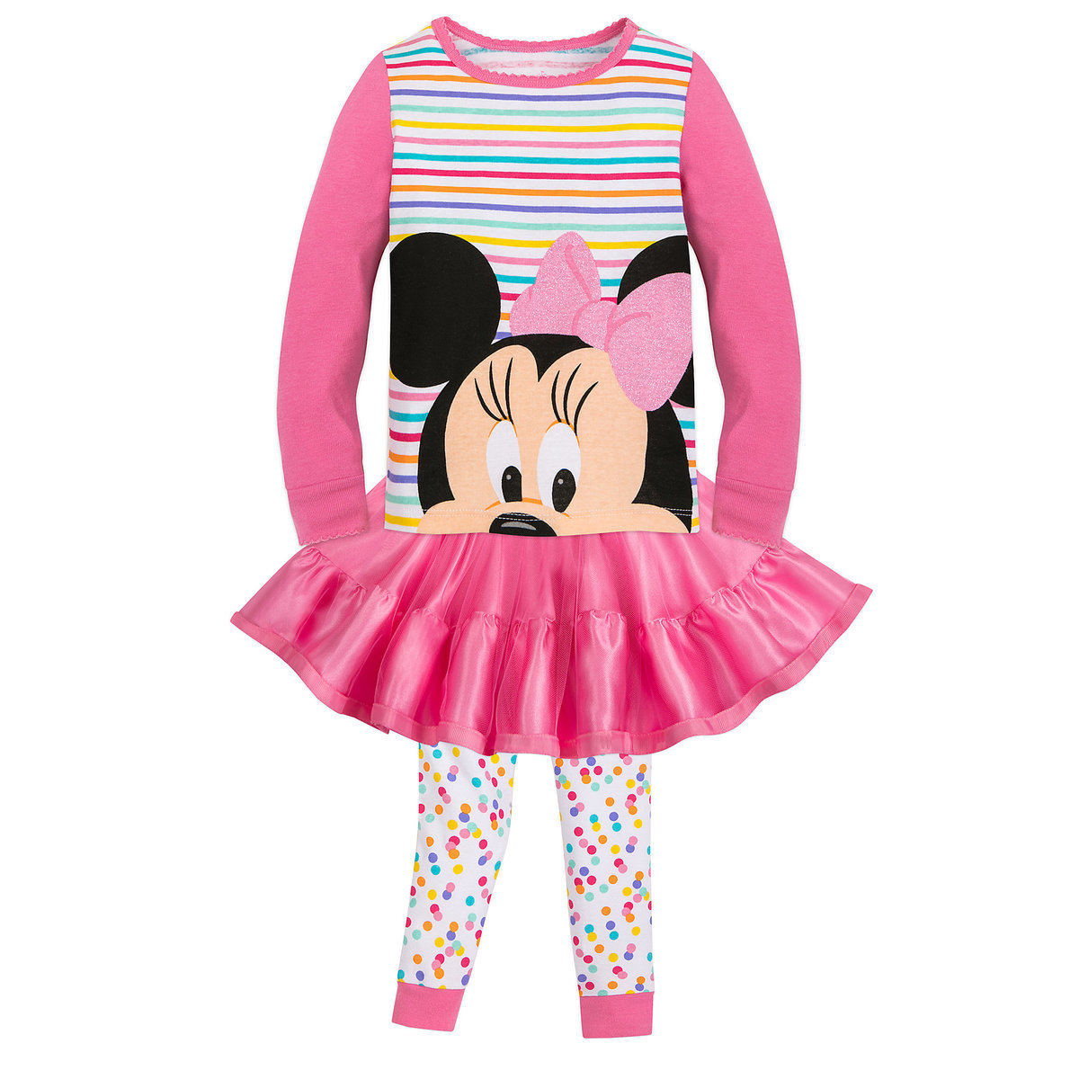 1f3d7152a3 Product Image of Minnie Mouse PJ PALS Set for Girls # 1