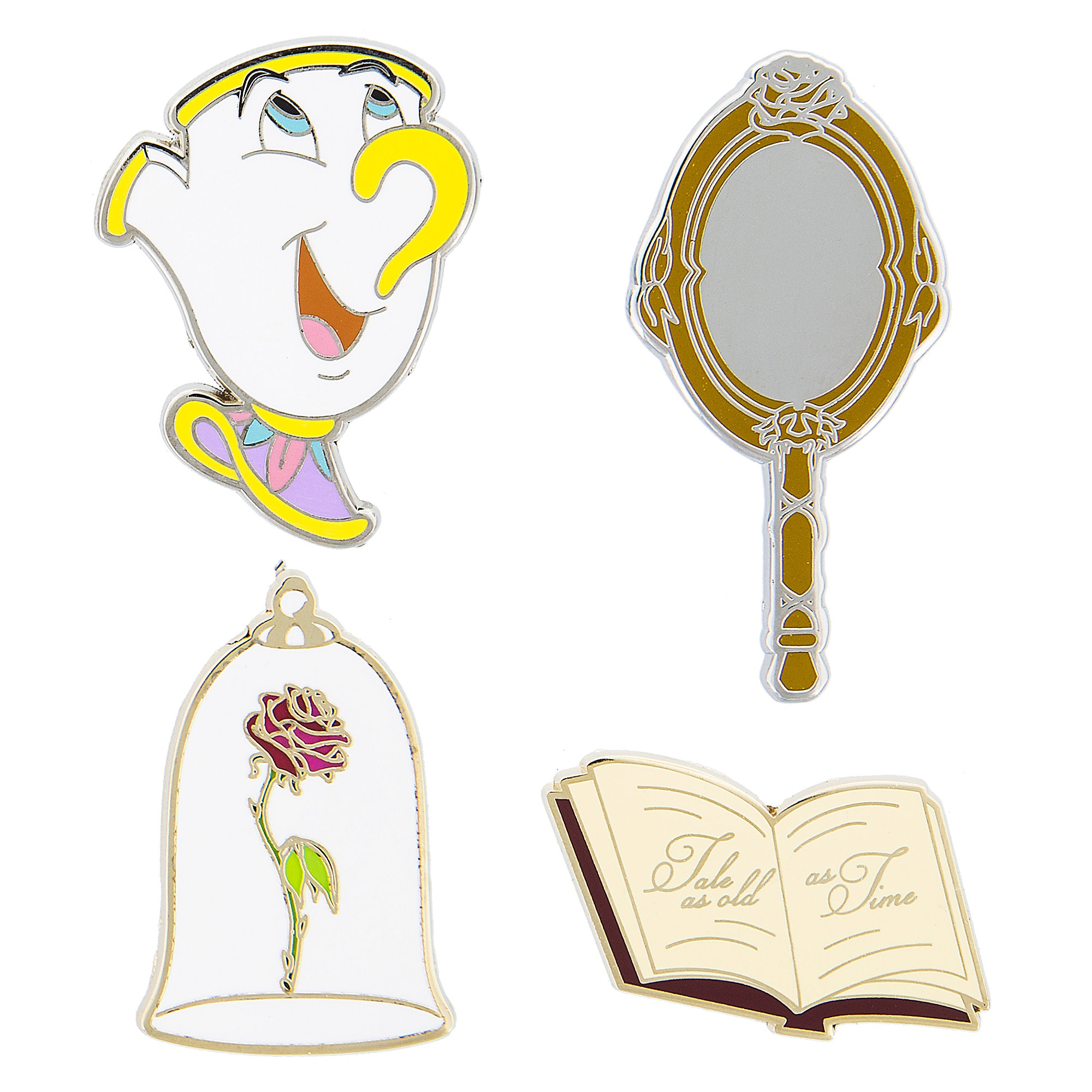 Beauty and the Beast Pin Trading Booster Set