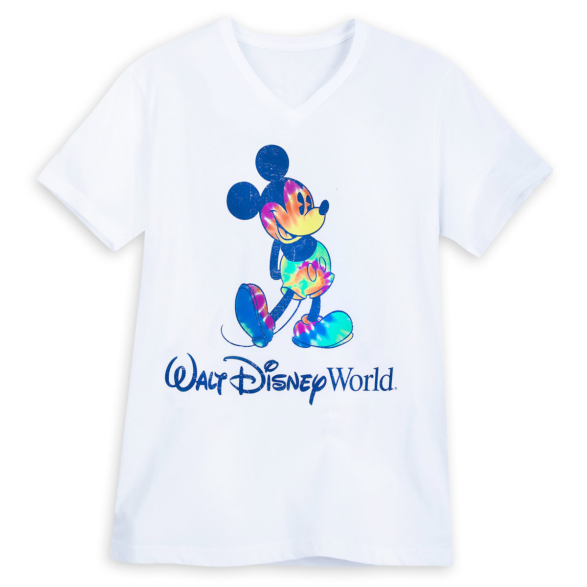 18017db7 Product Image of Mickey Mouse Tie-Dye Print T-Shirt for Adults - Walt