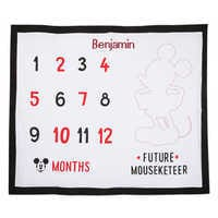 Image of Mickey Mouse Milestone Blanket Set for Baby - Personalized # 4