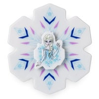 Image of Elsa Light-Up Fidget Spinner # 1