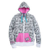 Image of Mickey Mouse and Friends Comic Hoodie for Women # 1