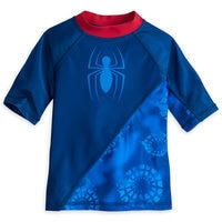 Image of Spider-Man Rash Guard for Boys # 1