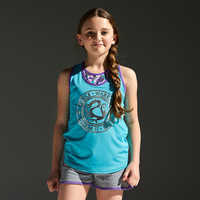 Image of Disney Princess Reversible Performance Tank Top for Girls by Our Universe # 2