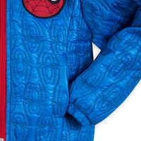 Image of Spider-Man Lightweight Quilted Jacket for Kids - Personalizable # 5