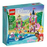 Image of Ariel, Aurora, and Tiana's Royal Celebration Playset by LEGO # 7