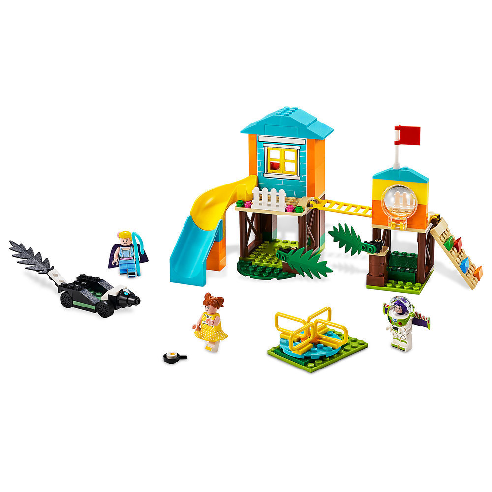 Buzz & Bo Peep's Playground Adventure Play Set by LEGO - Toy Story 4 Official shopDisney