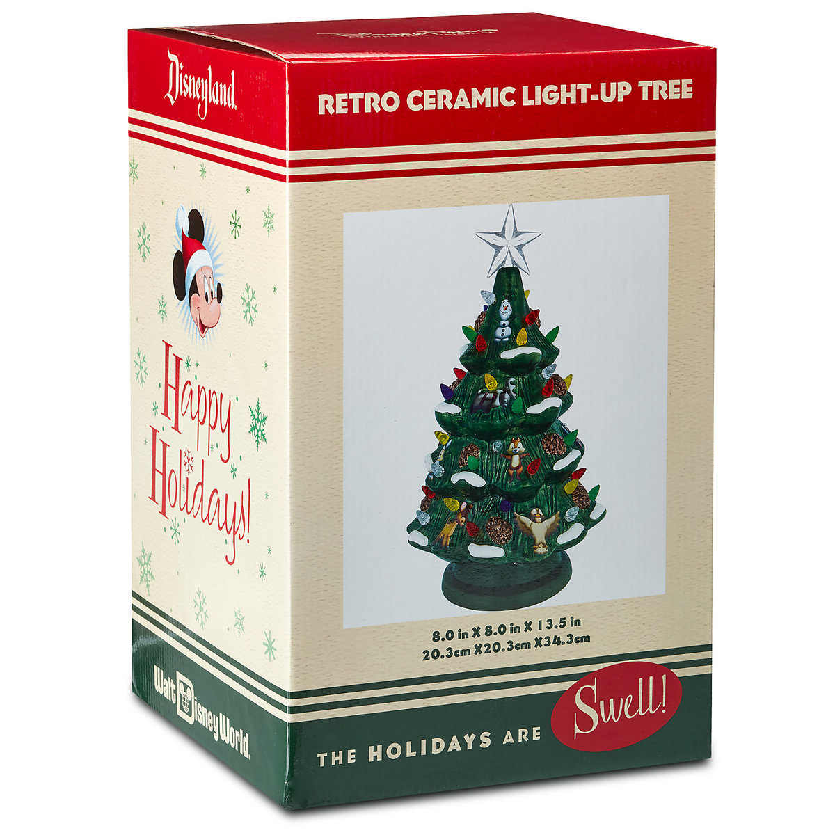 Disney Retro Ceramic Light Up Tree