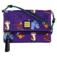 디즈니 알라딘 가방 폴드오버 크로스바디 Disney Aladdin Foldover Crossbody Bag by Dooney & Bourke