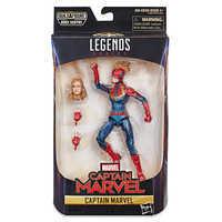 Image of Marvel's Captain Marvel Action Figure - Legends Series - Captain Marvel # 3