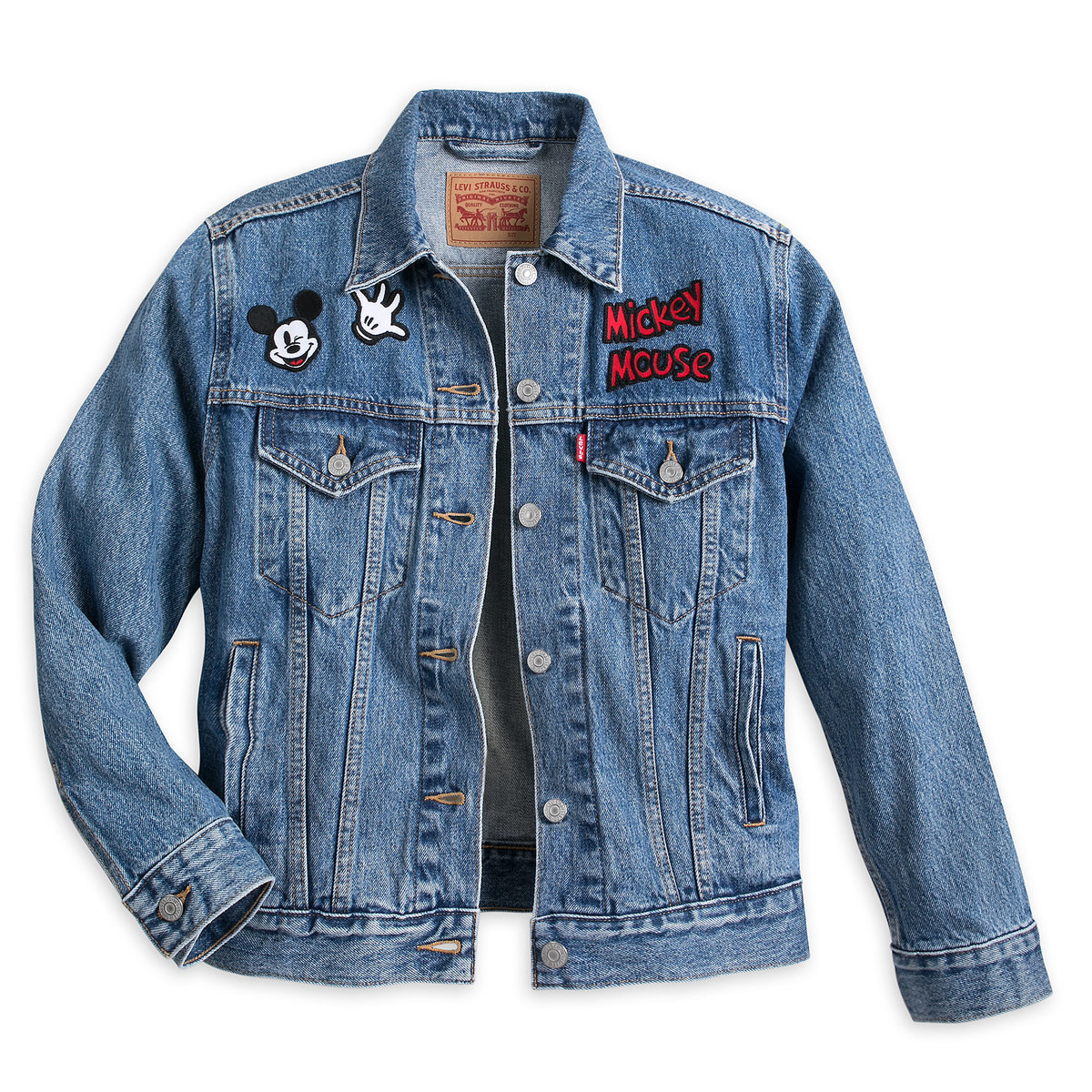 787f7c81e Mickey Mouse Denim Jacket for Women by Levi s