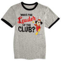 Image of Mickey Mouse Club Heathered Ringer T-Shirt for Kids # 1