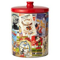Image of Mickey Mouse Poster Art Collage Kitchen Canister # 1