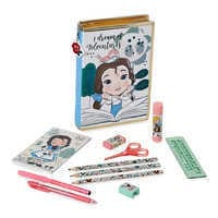 Image of Disney Animators' Collection Belle Zip-Up Stationery Kit # 1