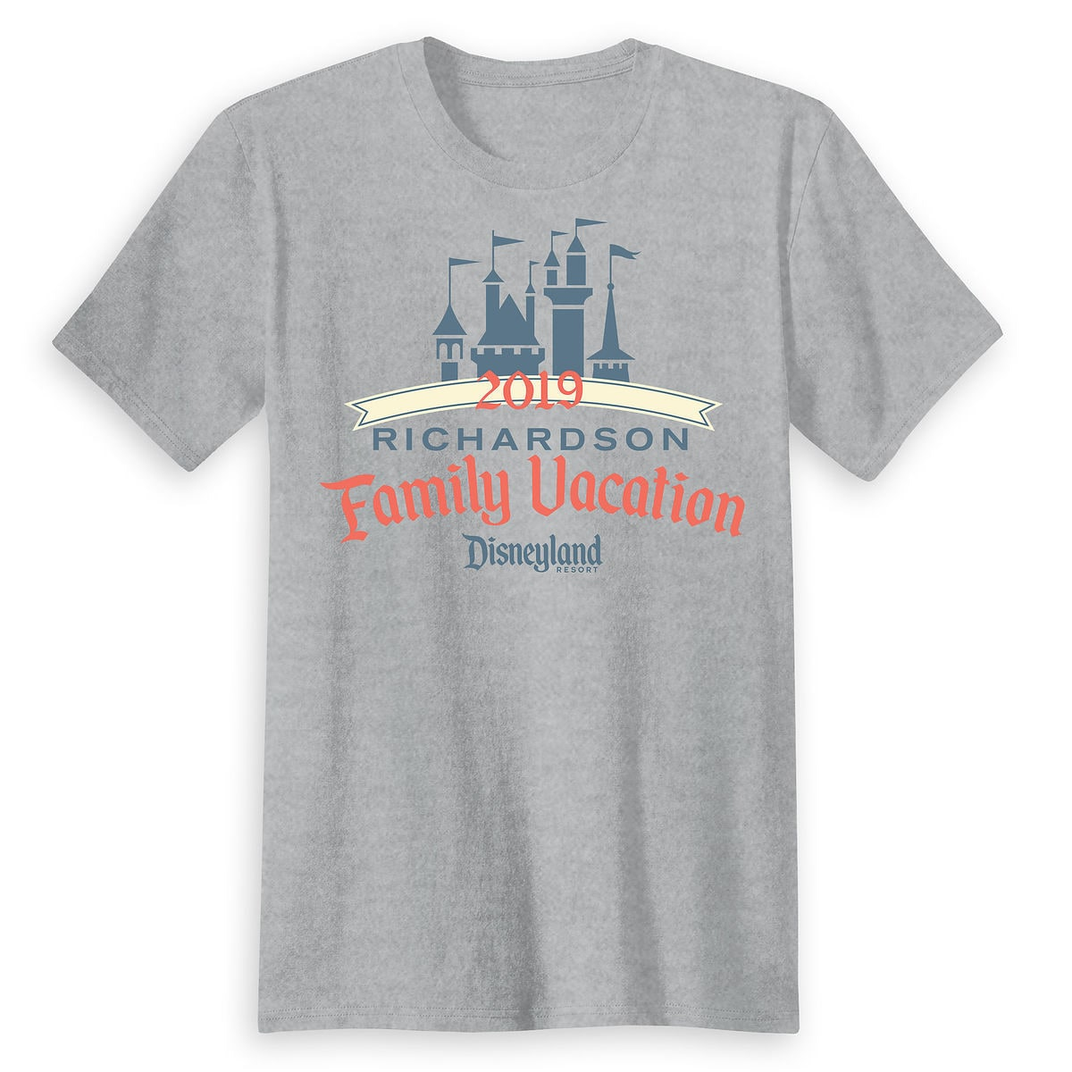 847eef86d90 Adults  Sleeping Beauty Family Vacation T-Shirt - Disneyland Resort - 2019  - Customized