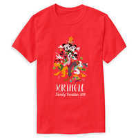 Image of Mickey Mouse and Friends Holiday Family Vacation Family T-Shirt - Customizable # 1