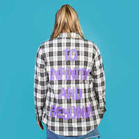 Image of Buzz Lightyear Flannel Shirt for Adults by Cakeworthy - Toy Story 4 # 5