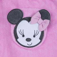 Image of Minnie Mouse Hooded Bath Robe for Baby - Personalizable # 4