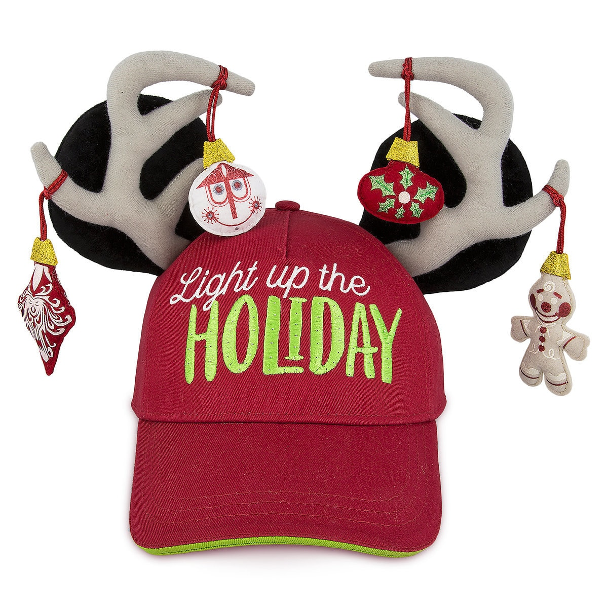 a199e8c539fdd Product Image of Mickey Mouse Holiday Baseball Cap for Adults   1
