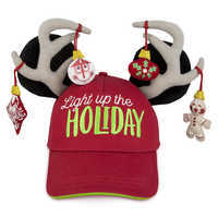Image of Mickey Mouse Holiday Baseball Cap for Adults # 1
