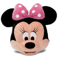 Image of Minnie Mouse Plush Pillow - Pink - 16'' # 1
