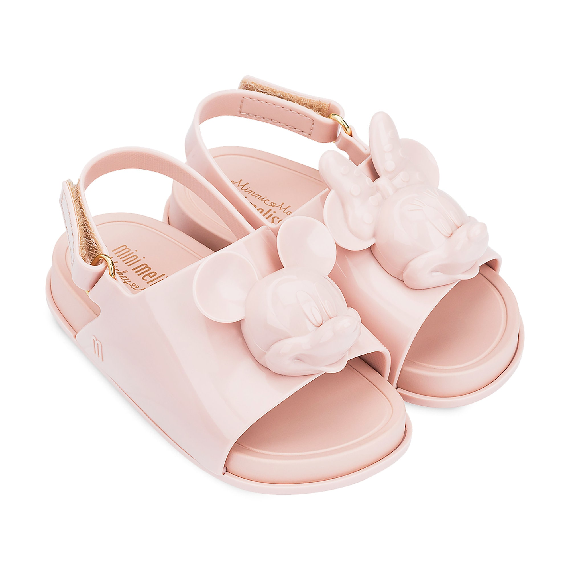 Mickey and Minnie Mouse Slide Sandals for Toddlers by Melissa